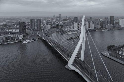 Erasmusbrug from 'The Rotterdam' von Tux Photography
