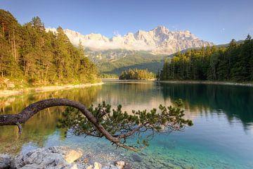Am Eibsee in Bayern von Michael Valjak