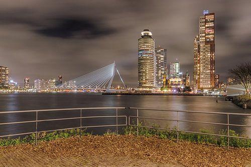 Rotterdam vanuit Katendrecht van