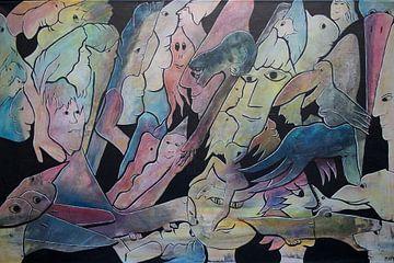 dream figures van Mary Pedersen