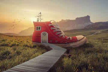Vom Schuh zum Haus von