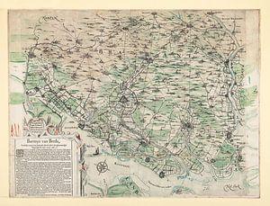 Baronnie de Breda vers 1625