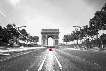 Champs-Elysées met accent van