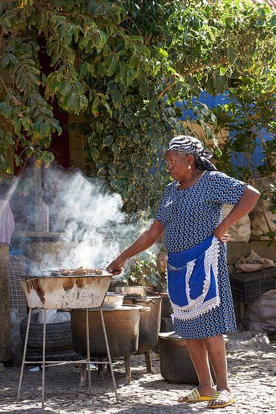 Zij is de baas in de keuken van Jeroen Kleiberg