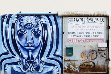 Graffiti gezicht