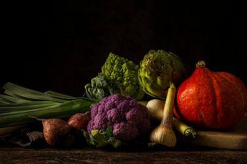 Gemüsestillleben von Annemieke Nierop