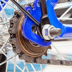 Ketting en tandwiel van fiets von Marcel Derweduwen