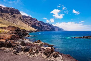 Die Küste des Atlantischen Ozeans auf Teneriffa von Rico Ködder