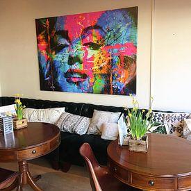 Kundenfoto: Mariyln Monroe Collage Pop Art PUR 1 von Felix von Altersheim