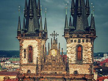 Prague - Týn Church van