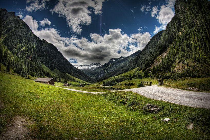 Schönachtal, Oostenrijk von Eus Driessen