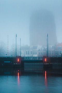 Oldehove in de mist van Isa V