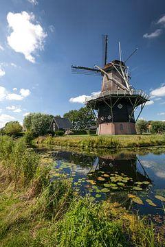 Alte holländische Windmühle von Studio Heyki
