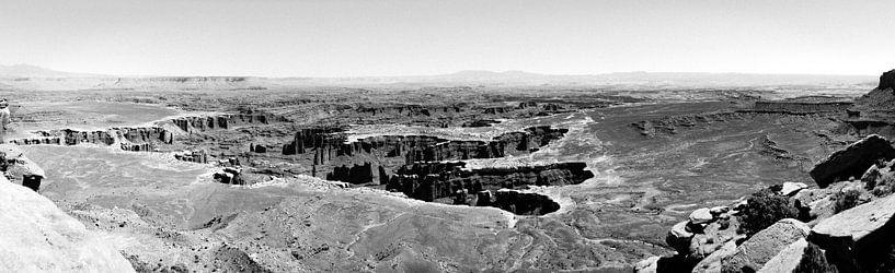 Canyonlands Panorama van Gerben Tiemens