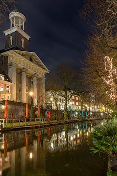 Sint Augustinuskerk in de avond, Utrecht van André Russcher