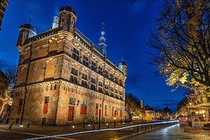 Achterkant Historisch Museum De Waag, Deventer
