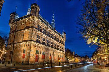 Achterkant Historisch Museum De Waag, Deventer van VOSbeeld fotografie
