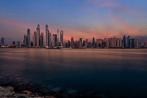 Dubai Marine Sunset van
