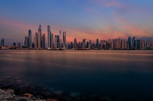 Dubai Marine Sunset