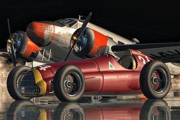 Alfa Romeo 158 Alfetta von 1950 von Jan Keteleer