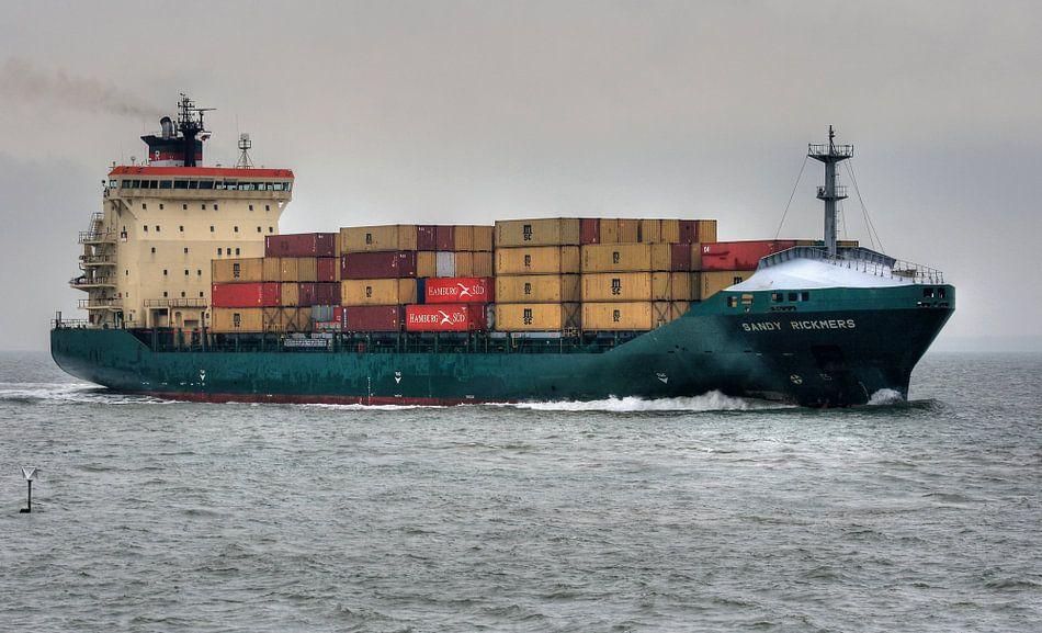 Scheepvaart in Vlissingen van MSP Canvas