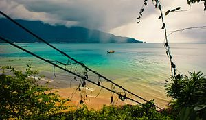 La saison des pluies @ l'île de Tioman
