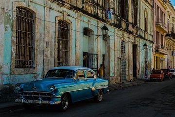 Oldtimer à La Havane sur René Groenendijk