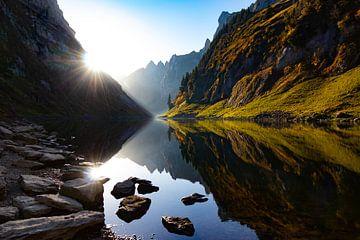 Fählensee - Appenzell Innerrhoden - Zwitserland van Felina Photography