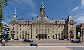 Rotterdam gemeentehuis aan de Coolsingel, Nederland sur