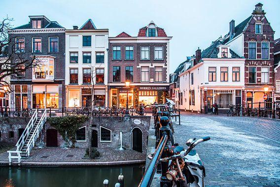 De historische Oudegracht van De Utrechtse Internet Courant (DUIC)