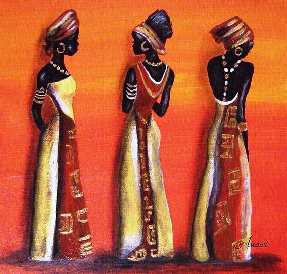 Afrikan Ladys van Iwona Sdunek alias ANOWI