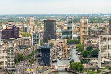 Rotterdam oude haven sur Arie Jan van Termeij