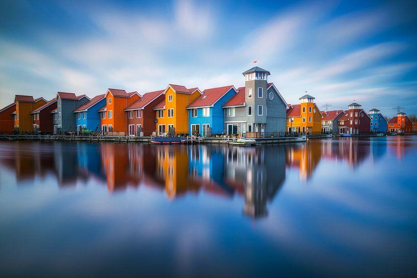 Reitdiephaven Groningen van Albert Dros