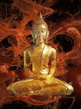 Bouddha sur Max Steinwald