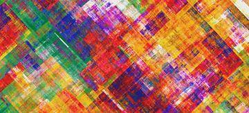 Abstracte samenstelling 477 van Angel Estevez