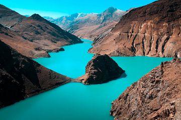 Tibetan lake sur Niek Wittenberg