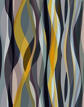 Abstracte samenstelling 1044 van Angel Estevez