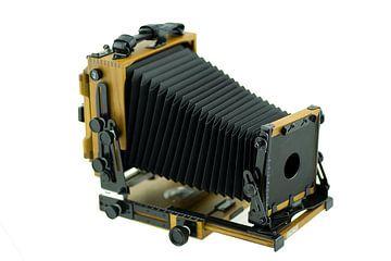 Oude analoge fotocamera van Sjouke Hietkamp