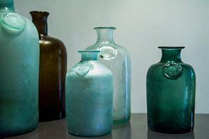 Apothekersflessen in Surinaams museum