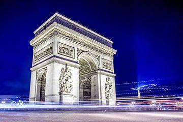 Parijs bij nacht van Günter Albers