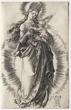 La Sainte Vierge avec la couronne d'étoiles, Albrecht Dürer sur De Canon