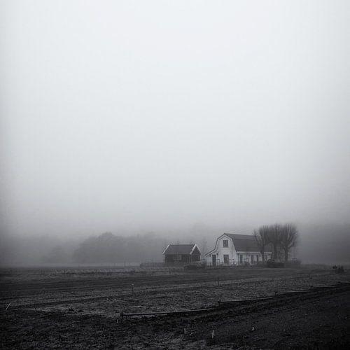 Boerderij in de mist, Heemskerk van