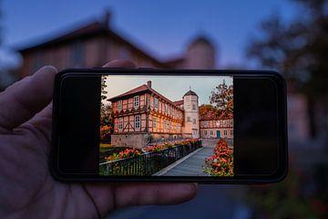 Fallersleben Castle per mobiele telefoon van Marc-Sven Kirsch