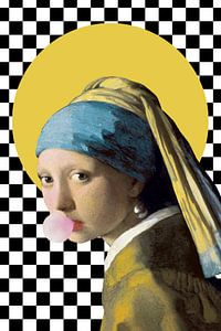 Girl with Pearl Earring - The Rebel Version