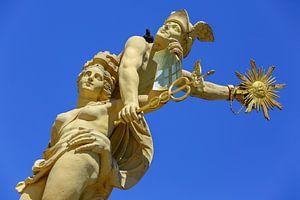 Statuen Marktplatzbrunnen Mannheim von Patrick Lohmüller