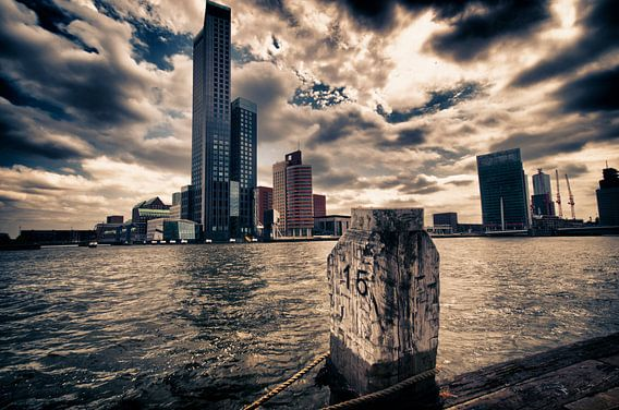 Kop van Zuid in Rotterdam van Thomas Poots