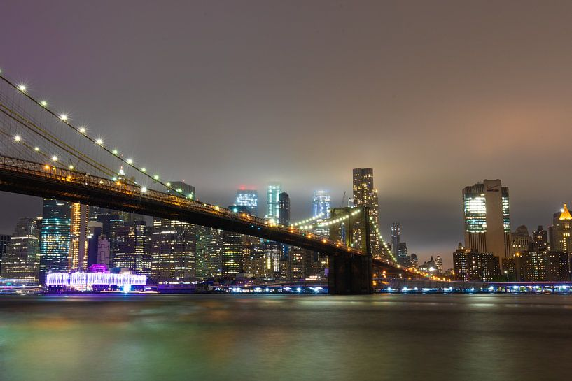 Brooklyn Bridge van Michel van Rossum