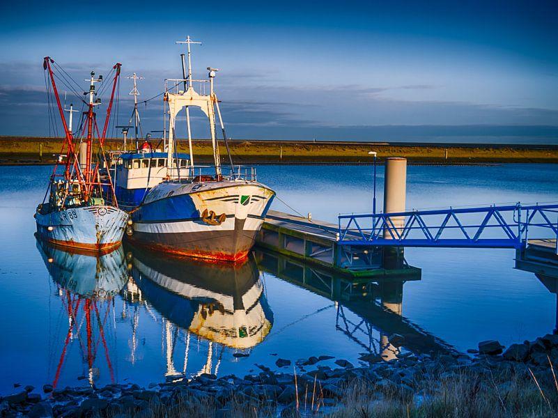 Boote im Hafen von Martijn Tilroe