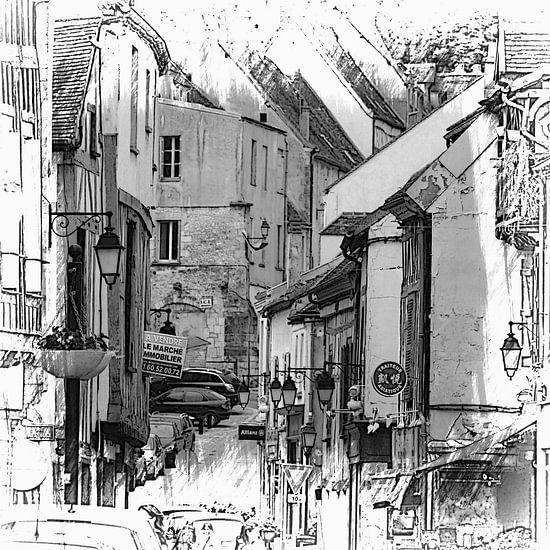 la vieille ville van Yvonne Blokland