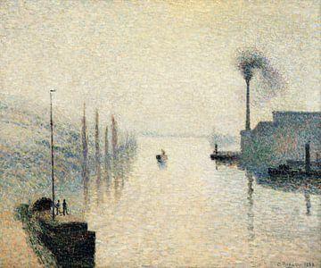 Nebelwirkung, Camille Pissarro - 1888